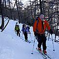 ski de randonné en Valpelline