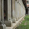 Cloître du couvent des Carmes - La Rochefoucauld -16 - (12)