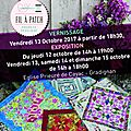 Exposition de l'atelier fil à patch
