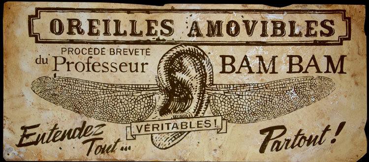 Oreilles Amovibles Bam Bam