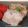 Terrine de poulet et chair à saucisses (thermomix ou pas )