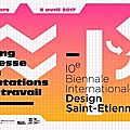 Du 09/03 au 09/04, 10ème biennale internationale du design !