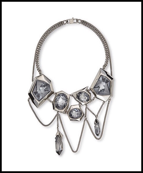 swarovski jean paul gaultier collection reverse collier