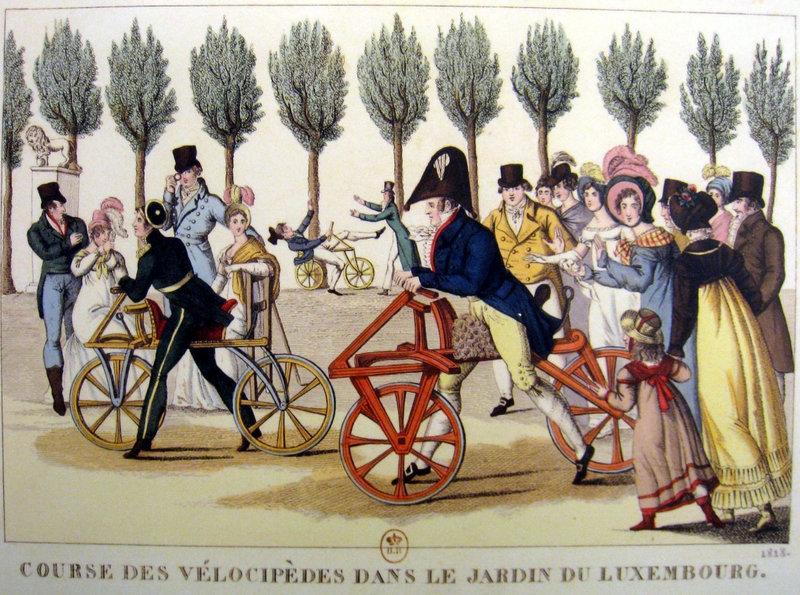 draisienne luxmbourg 1818