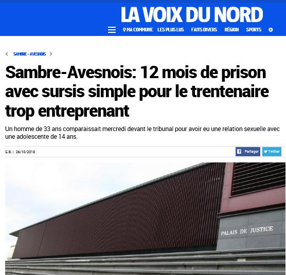 2018-10-28 16_07_40-Sambre-Avesnois_ 12 mois de prison avec sursis simple pour le trentenaire trop e