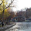 Balade sur les canaux / paris - bastille - canal st martin - la villette