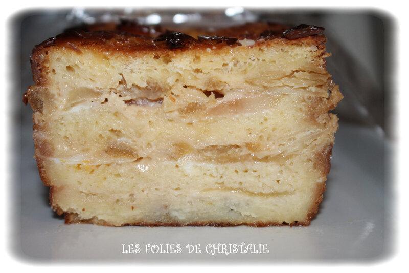 Croque cake poires 11