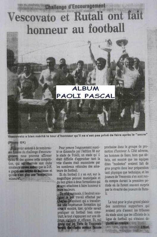 178 - Paoli P 2004 2005 Sélection Corse