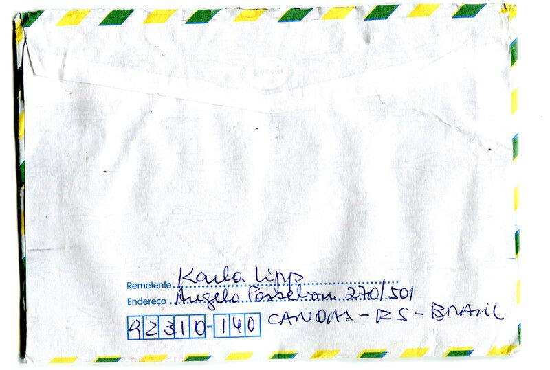 10 0235 verso envelope karla lipps bresil