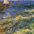 Barques de pêche, près des Saintes Maries, V. Van Gogh