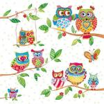 craftemotions-napkins-5pcs-owls-in-summerland-33x33cm-ambiente-13308715_24905_1_G