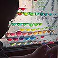 Apprendre : le mélange des couleurs avec du papier bulles
