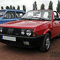 Fiat ritmo 85s cabriolet-1984