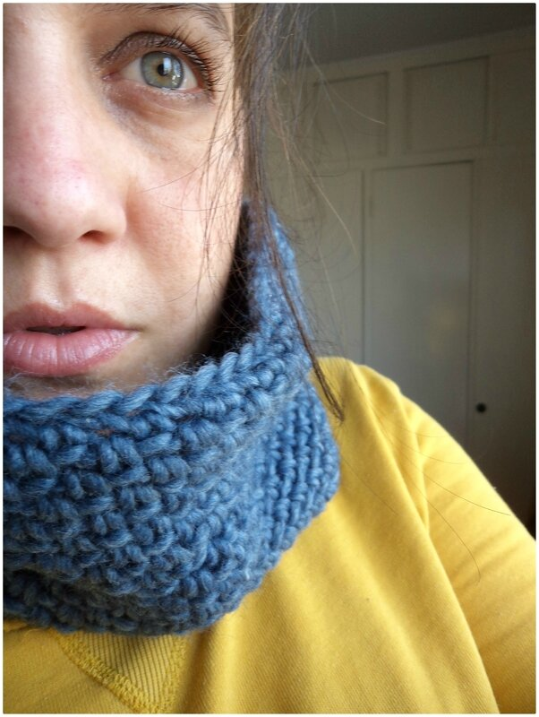 Snood crochet Cam&Drey bricolent