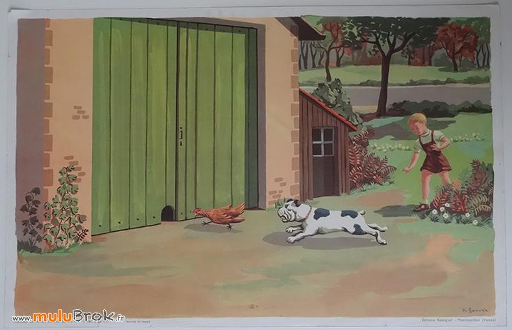 POUCET-Affiche-scolaire-Charlot-Géron-7-muluBrok-Vintage