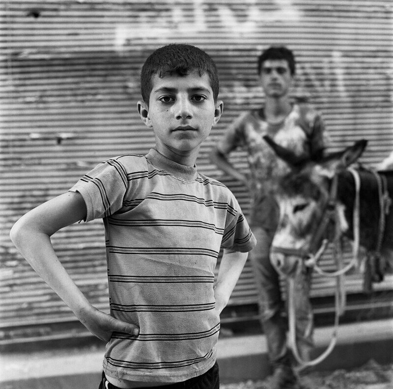 boy with donkey468