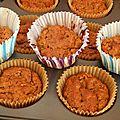 Muffins à la courge butternut (sans gluten, sans lactose)