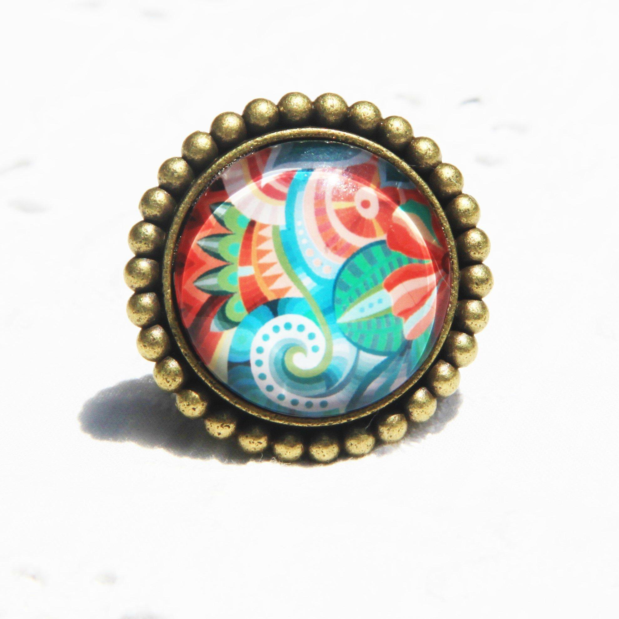 Boucles d'oreille, bagues, bracelets collection automne 2016 mes fleurs tropicales