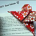 Diy un marque-page cœur en origami - un cadeau en 5 minutes chrono