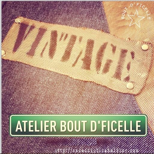 vintage by isa - atelier bout d'ficelle by isa et béa