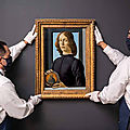 Sotheby's to offer sandro botticelli's renaissance masterpiece 'young man holding a roundel'