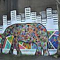 Eléphant urbain