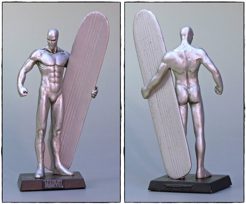 silver surfer eaglemoss