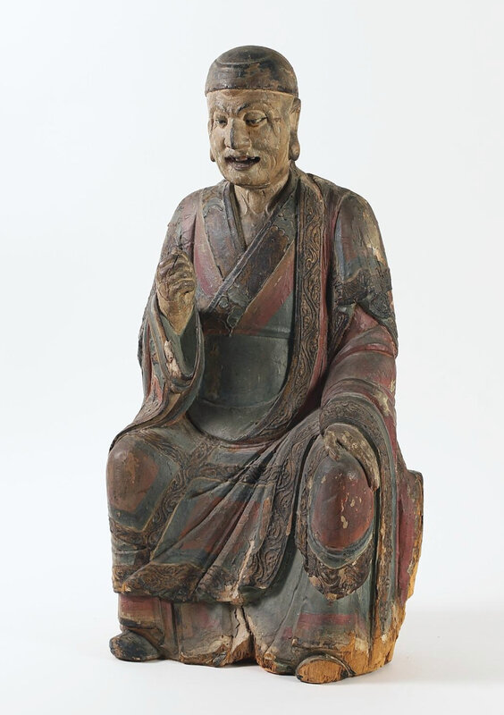chinese_polychrome_wood_seated_figure_of_a_luohan_ming_dynasty__372_1