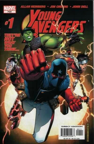 young avengers 1