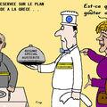 L'allemagne réservée sur le plan d'aide européen à la grèce . .