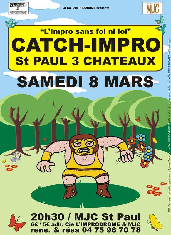 Affiche Catch-Impro 08