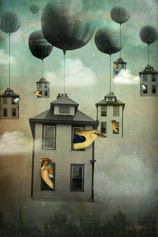Catrin Welz-Stein - German Surrealist Graphic Designer - Tutt'Art@ (9)