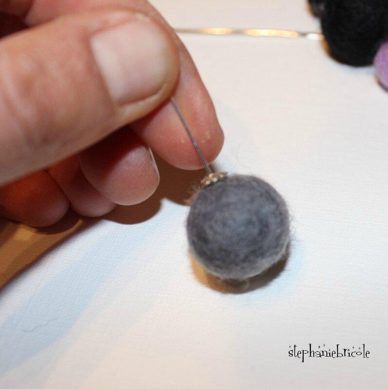 diy bijou en laine feutrée pas à pas 5