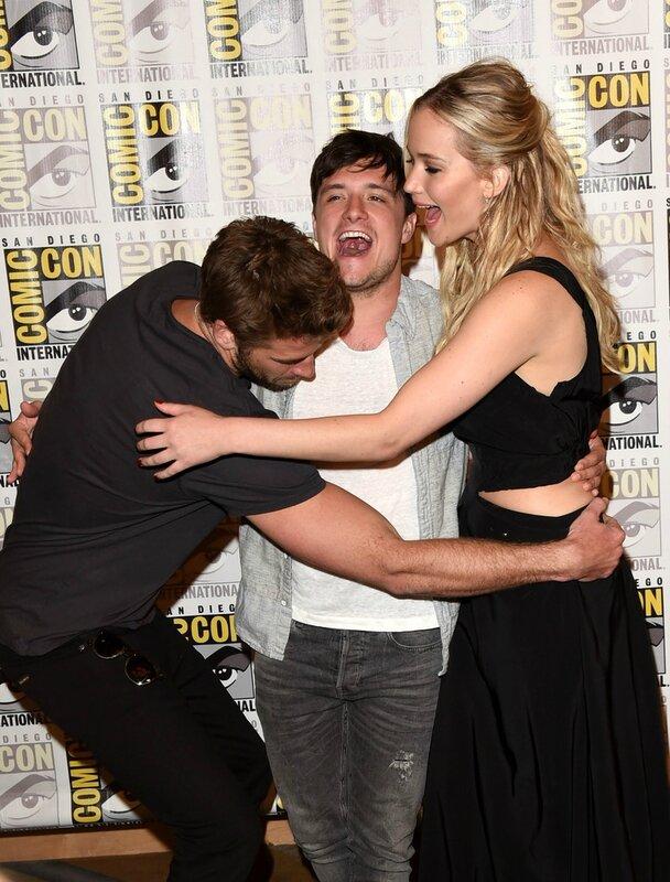 Hunger Games Mockingjay Part 2 Comic Con 2015 Panel 03
