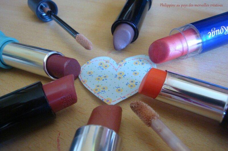 Etui à rouges à lèvres (10)