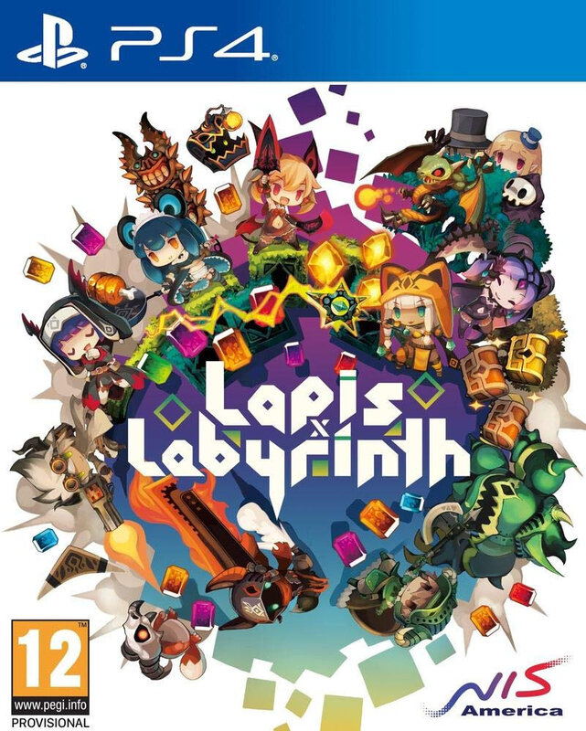 Lapis Labyrinth PS4