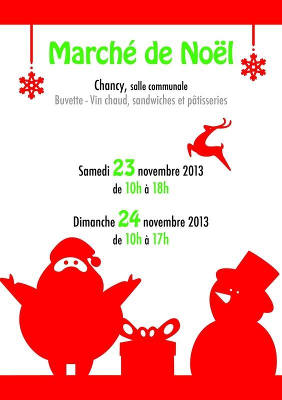 Flyer -Marché de Noël- Maman (1)