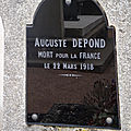 Depond auguste (villegouin) + 22/03/1918 rivière (62)