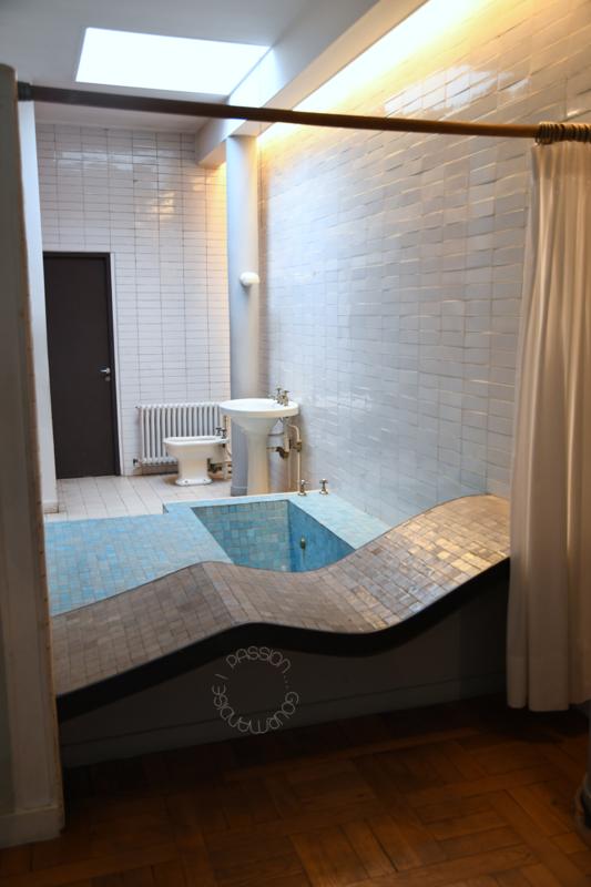 Villa Savoye, Poissy_salle de bains