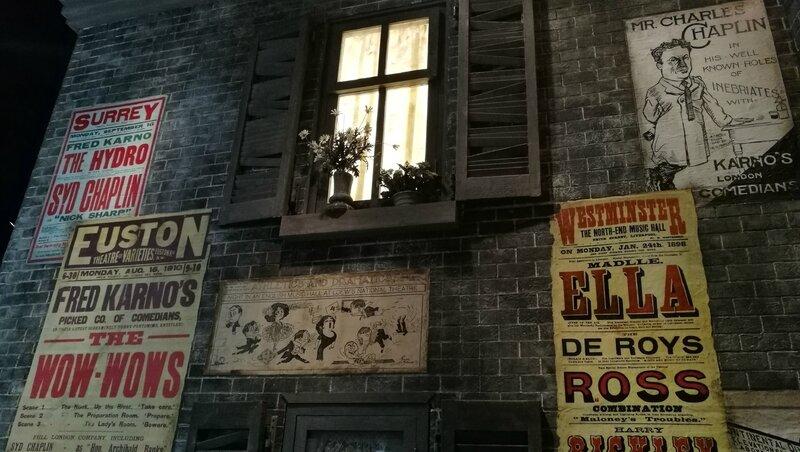 Corsier-sur-Vevey, Chaplin's world, le Studio, rue