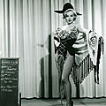 31/12/1952, tests costumes pour gentlemen prefer blondes