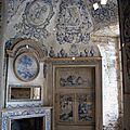 Château des ravalet - la chambre bleue