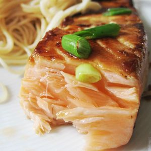 saumon à la japonaise