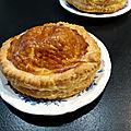 Tourte forestière au foie gras