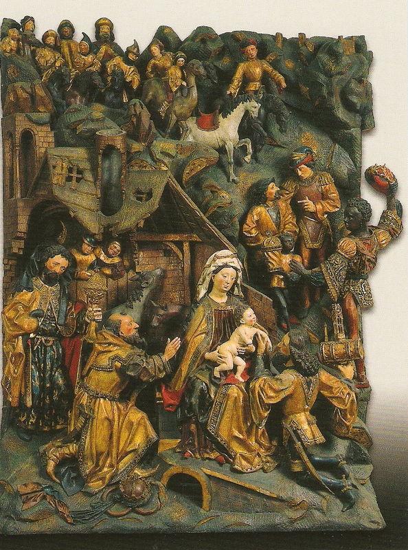 Adoration des Mages - 15e - Meister Arndt von Kalkar und Zwolle
