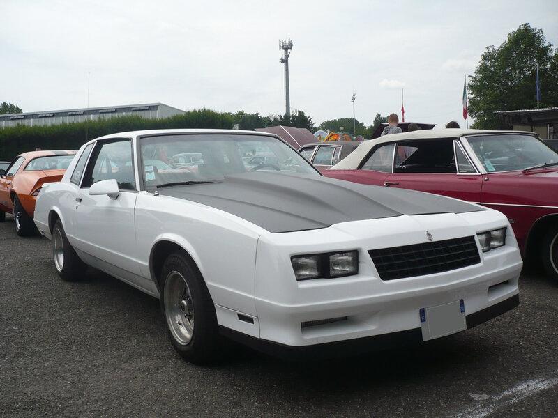 CHEVROLET Monte Carlo SS 2door coupé 1985 Illzach (1)