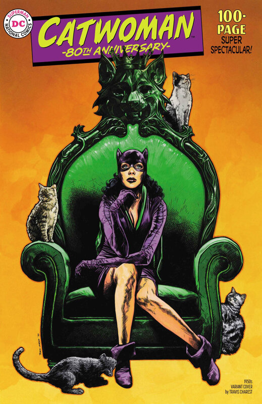catwoman 80th anniversary special 1950 travis charest variant