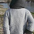 ...un gilet en laine, pour le froid.....