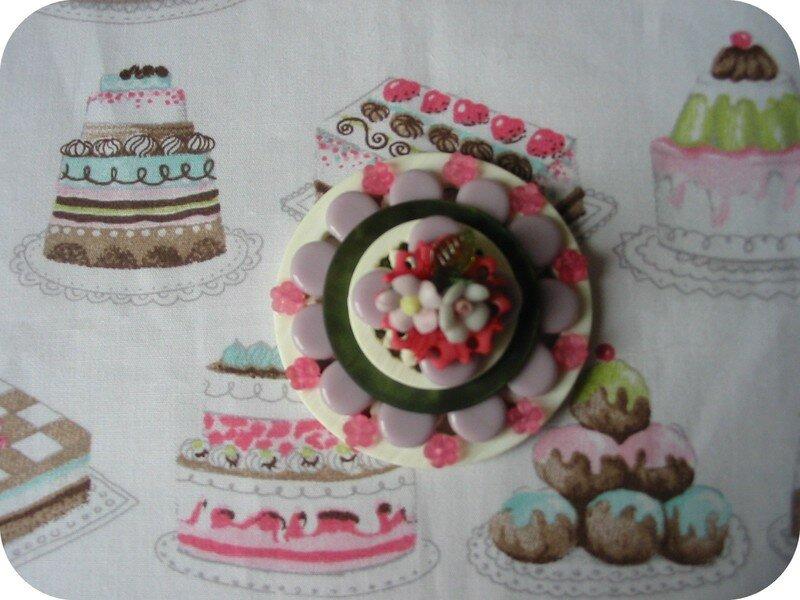 la broche gâteau