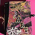 Art journal - text mixed media